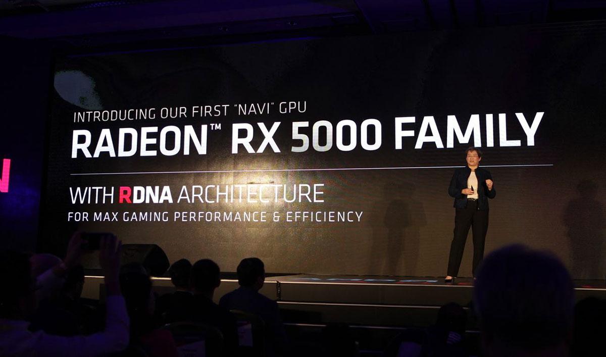 Radeon RX 5000 видеокарта