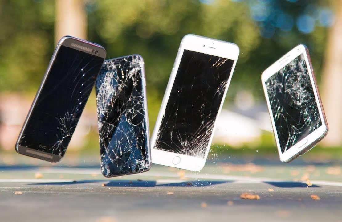 ломающиеся телефоны
