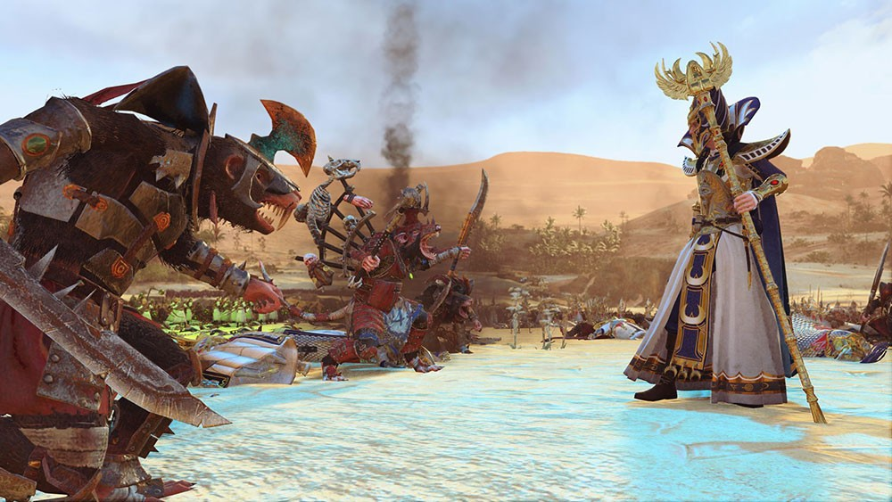 Total war Warhammer II и дракон