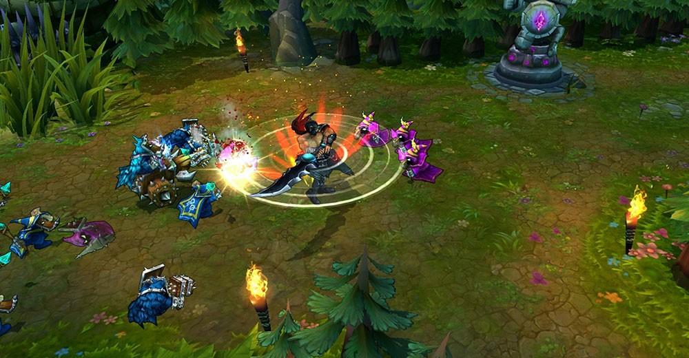 League of Legends геймплей