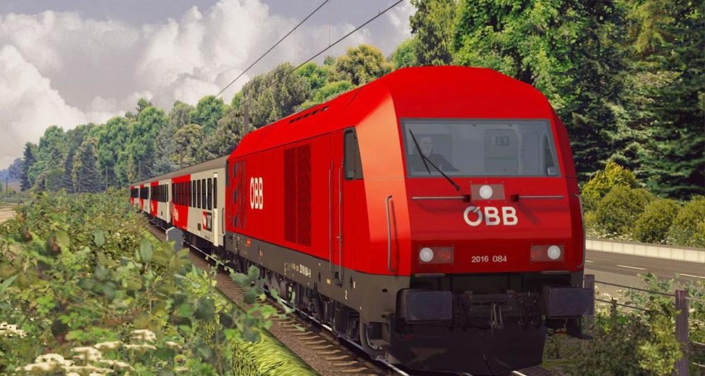 поезда и симуляторы
