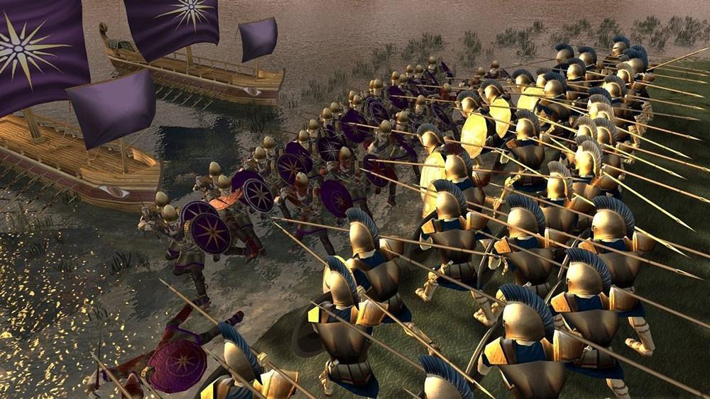 греческие сражения на короблях