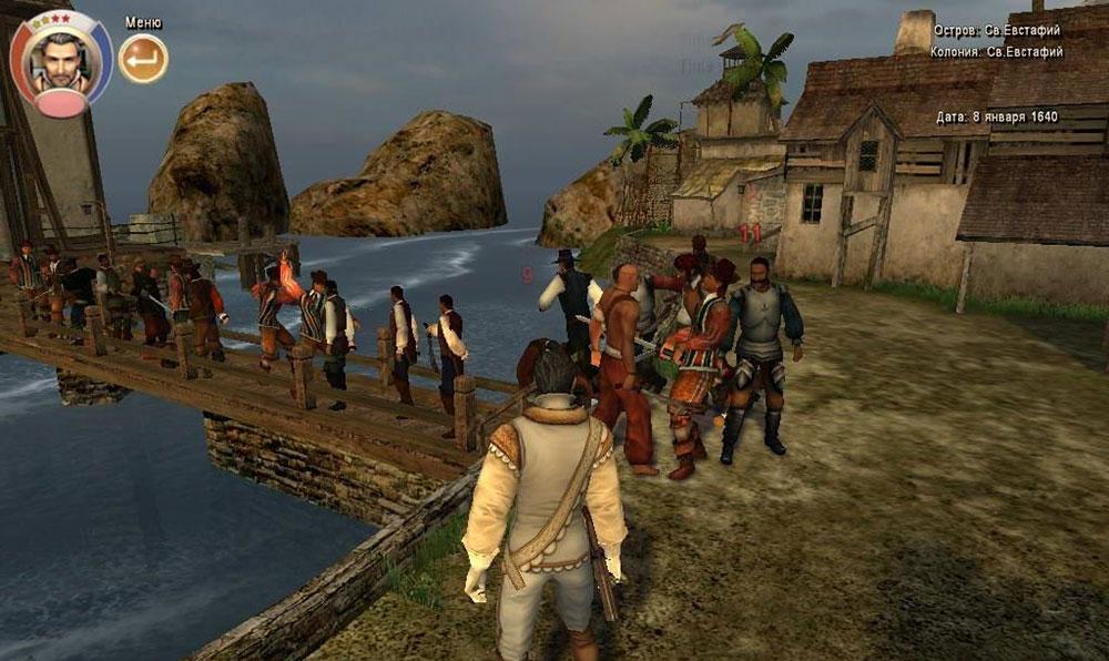игра корсары