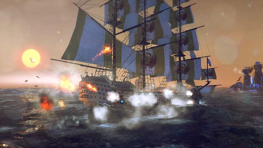темпест и пират экшен