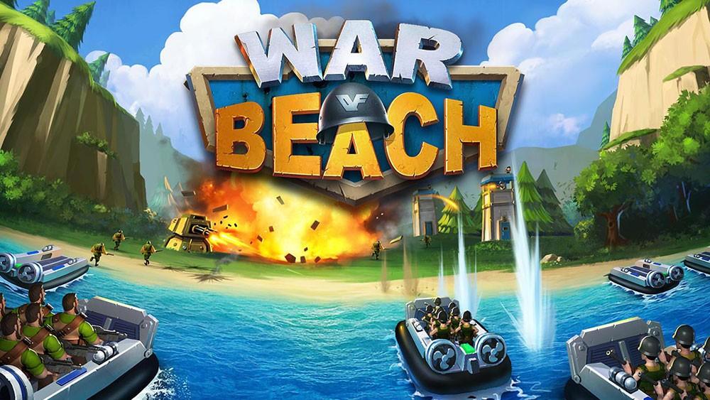 мультяшная игра про пляж