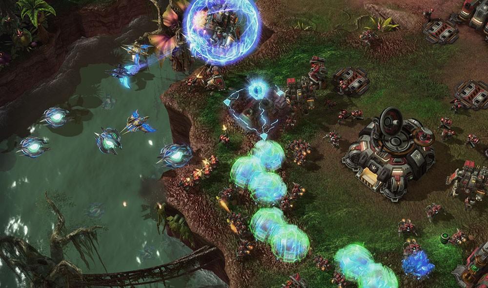 starcraft и игры на пк