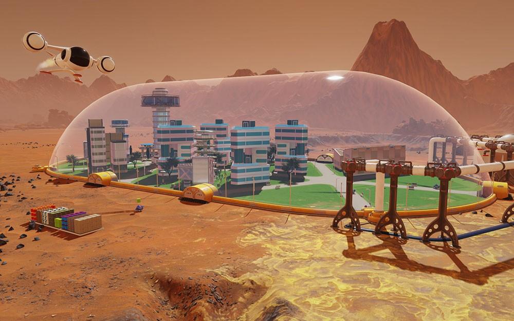 марс и сурвинг
