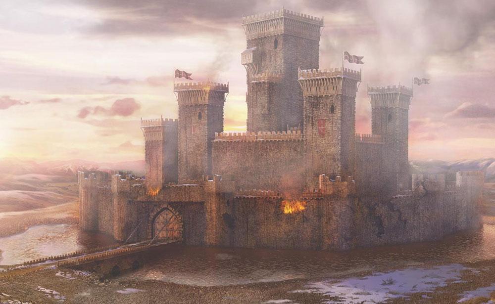 хонор и замок
