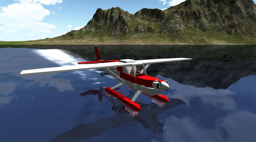 симпл и самолетик