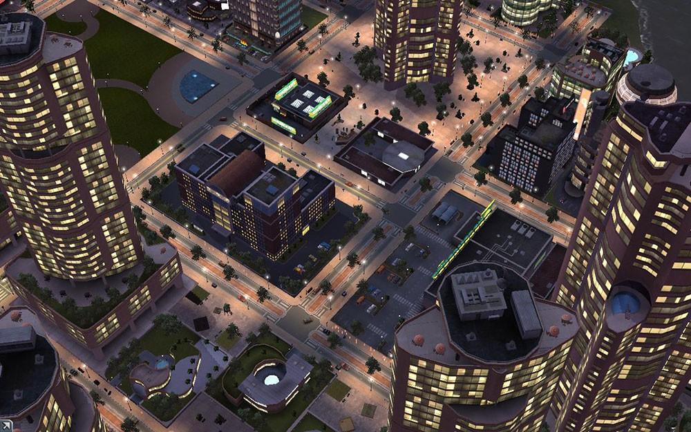 сити и города