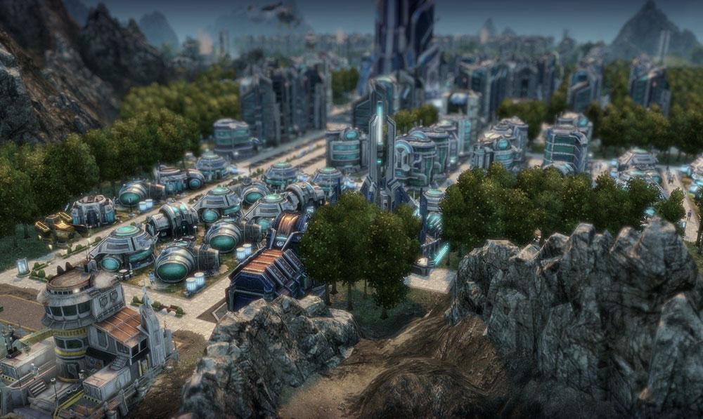 постройки и анно 2070