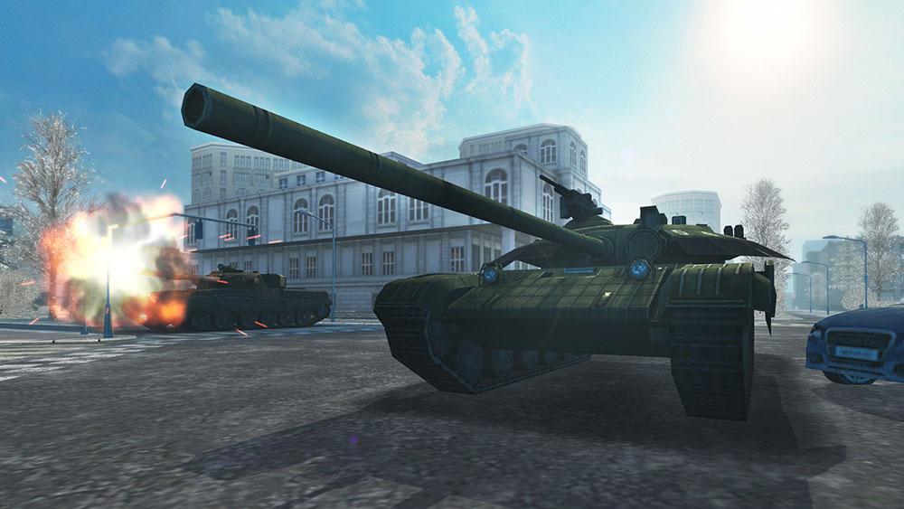 модерн танкс мощная игра