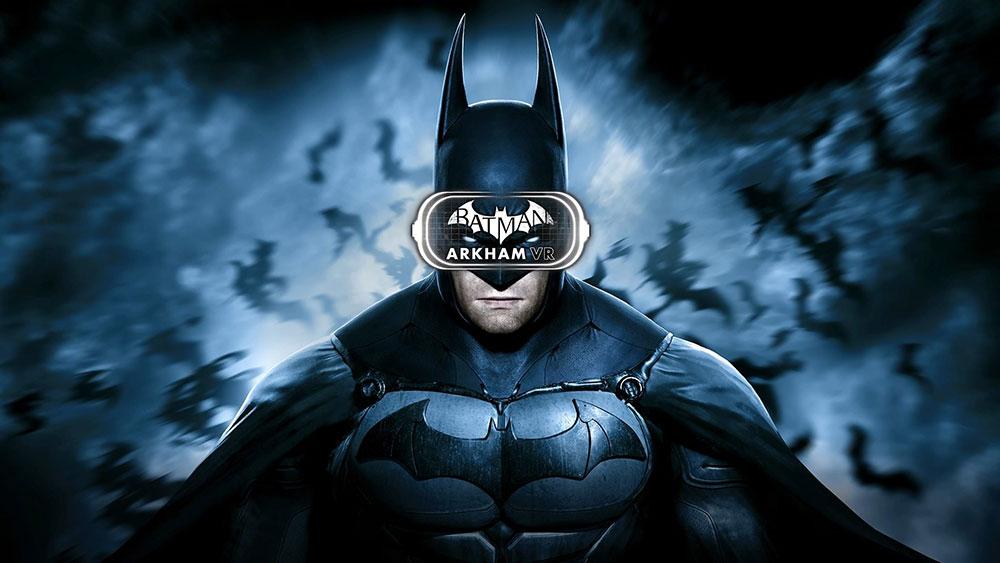дс и аркхам бэтмен