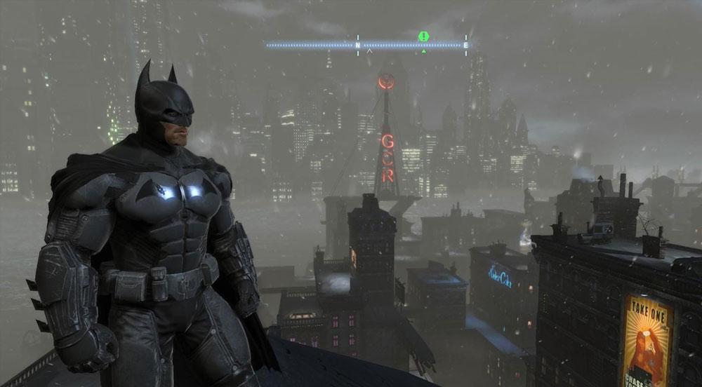 ориджинс бэтмен