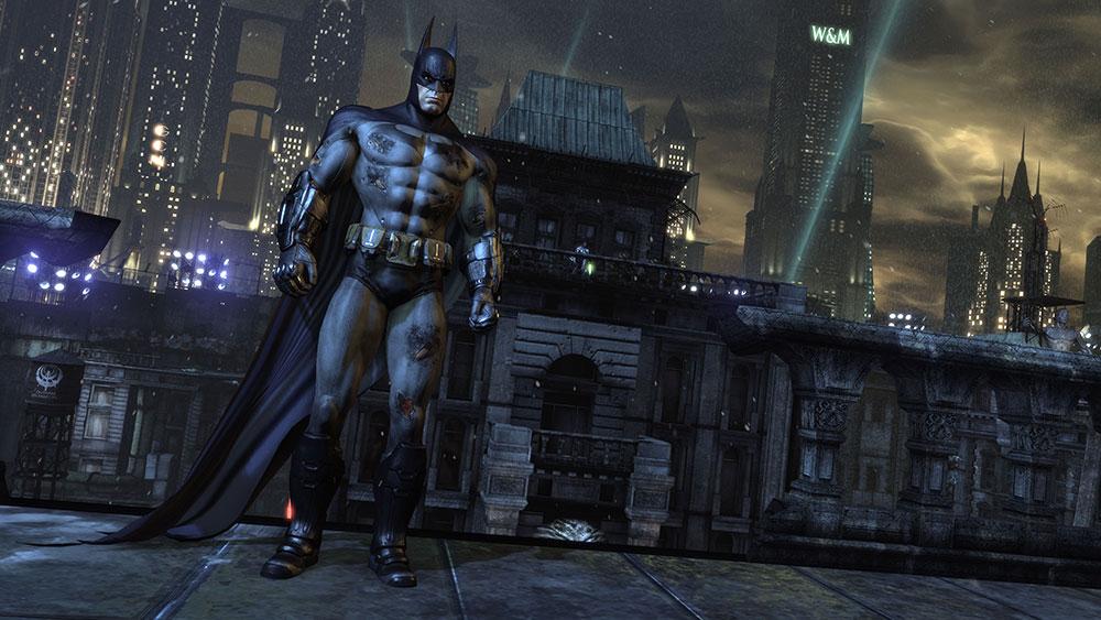 аркхам и бэтмен