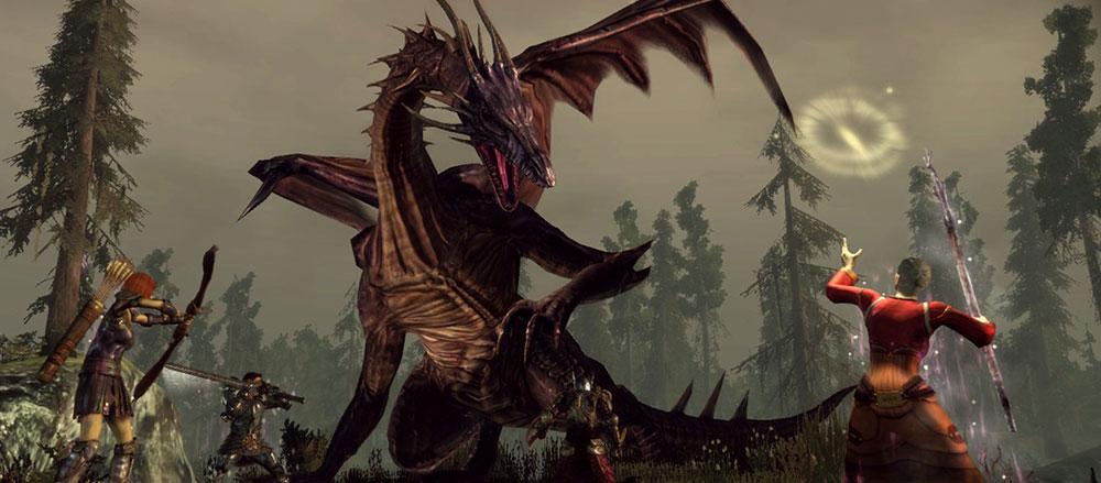 ориджинс и мифический дракон