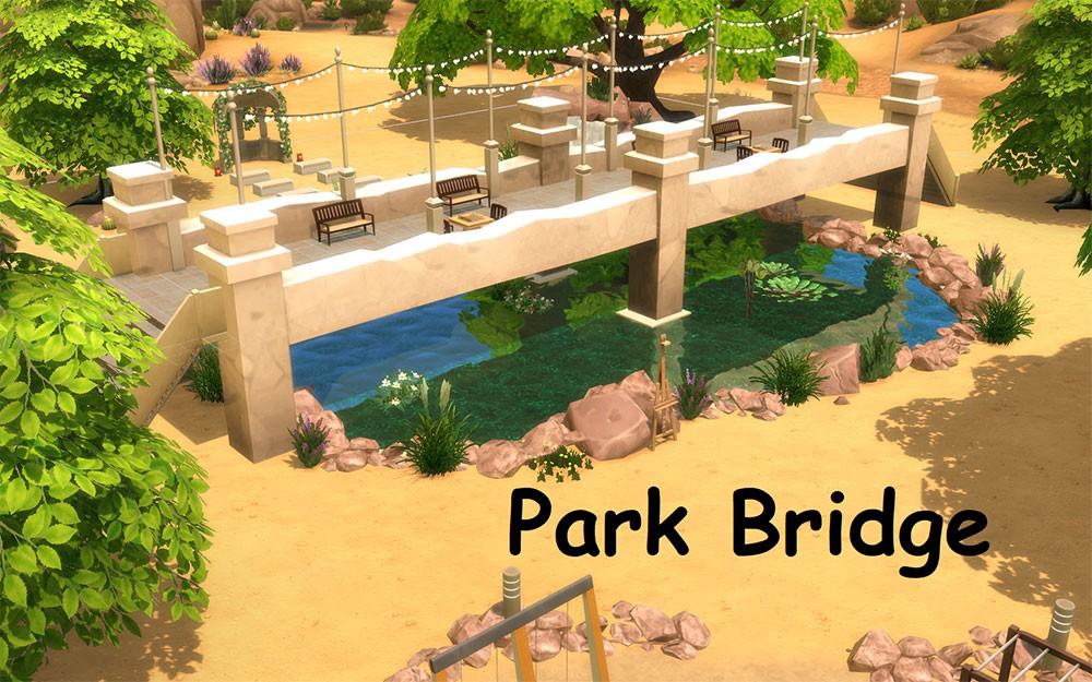 садовой мост фото