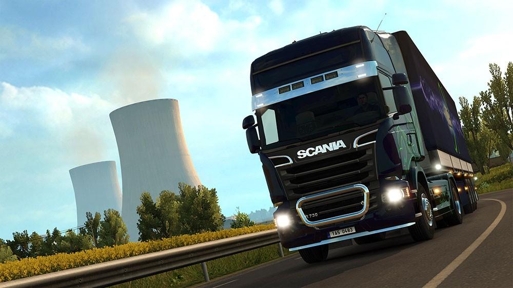 евро трек и грузовик