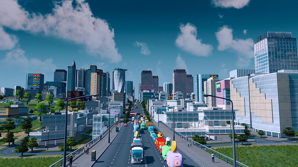 скайлайнс и городок