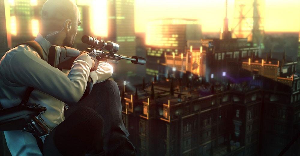 хитман снайпер