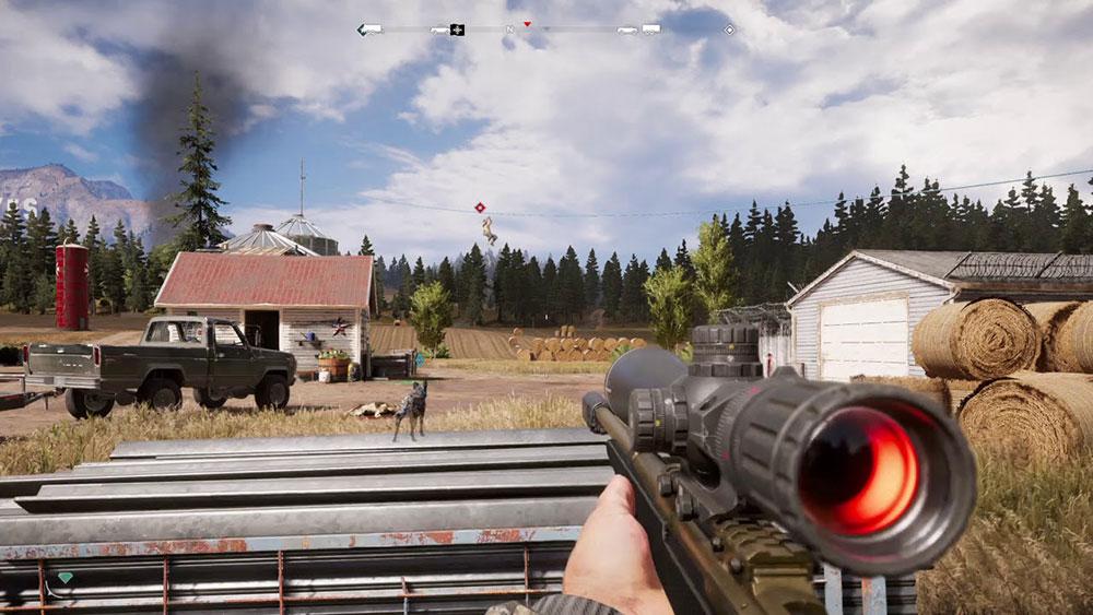фар край 5 снайперка