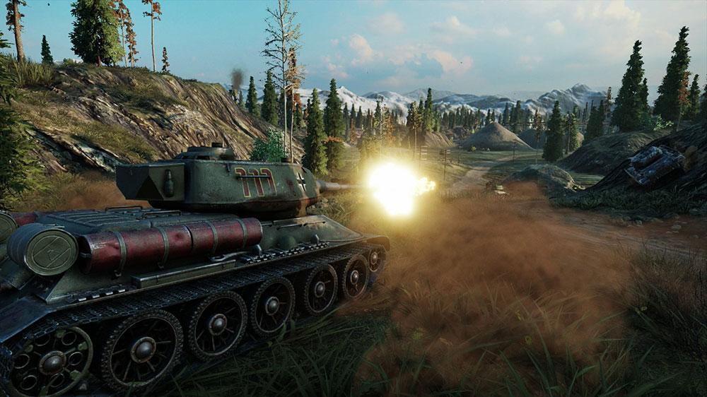 танк из игры