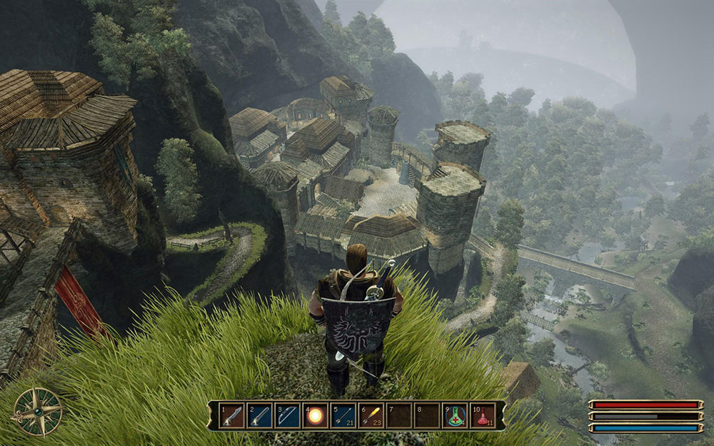 замок и крепости