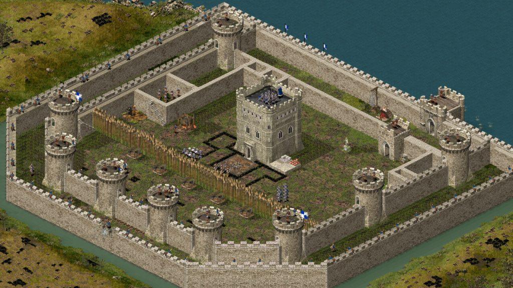 стронгольд и большая крепость