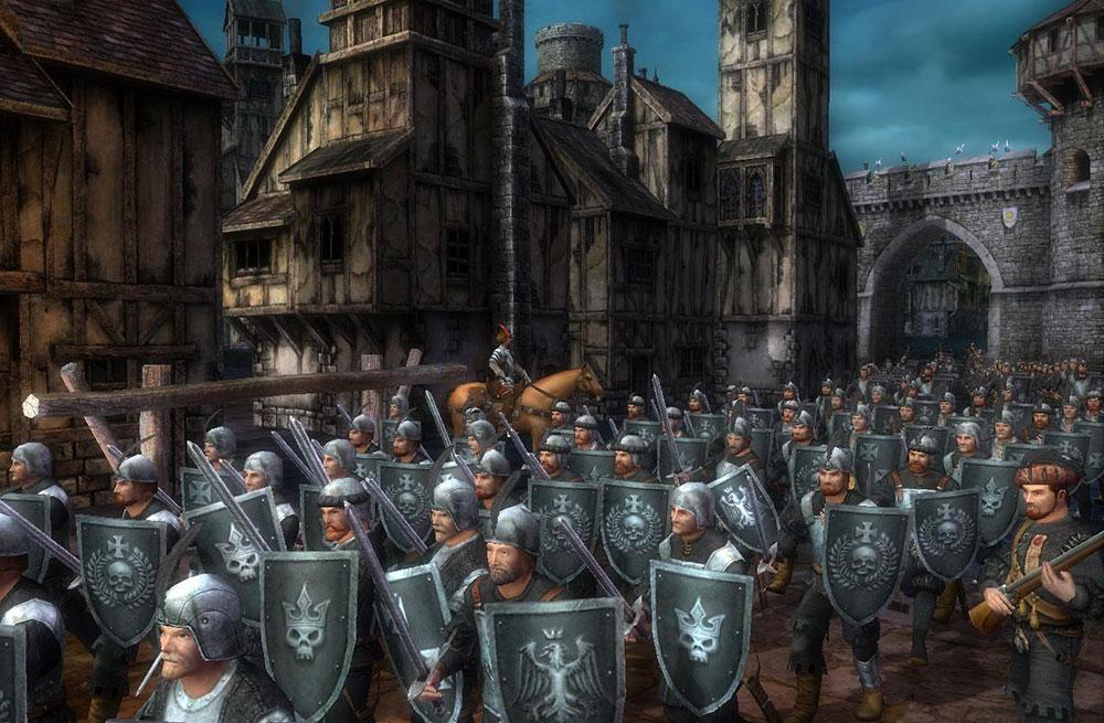 рыцари из вархаммер