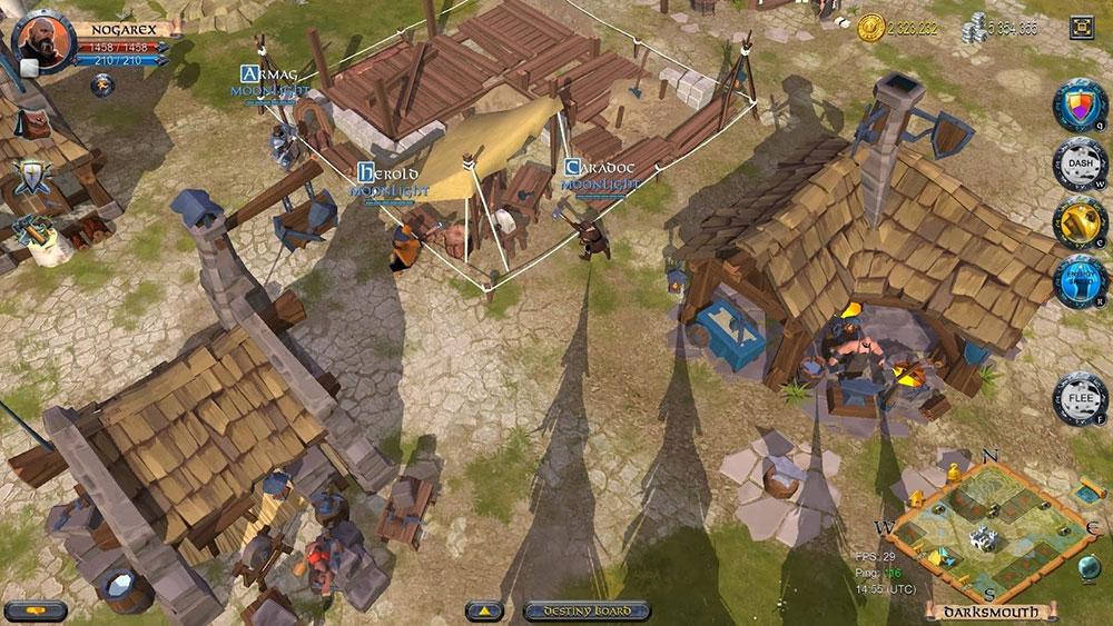 альбион и средневековая игра