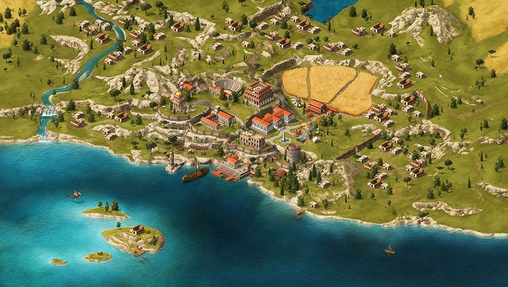 городок и поселения