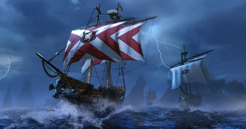 арчэйдж и корабль