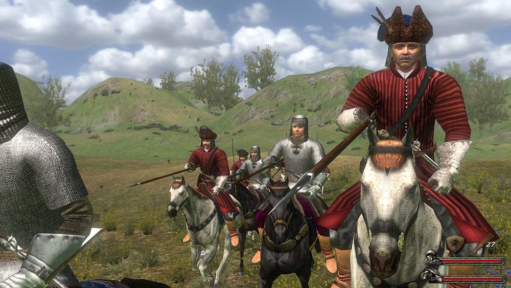 маунт и рыцари