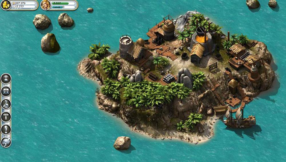 увлекательная игра пират шторм