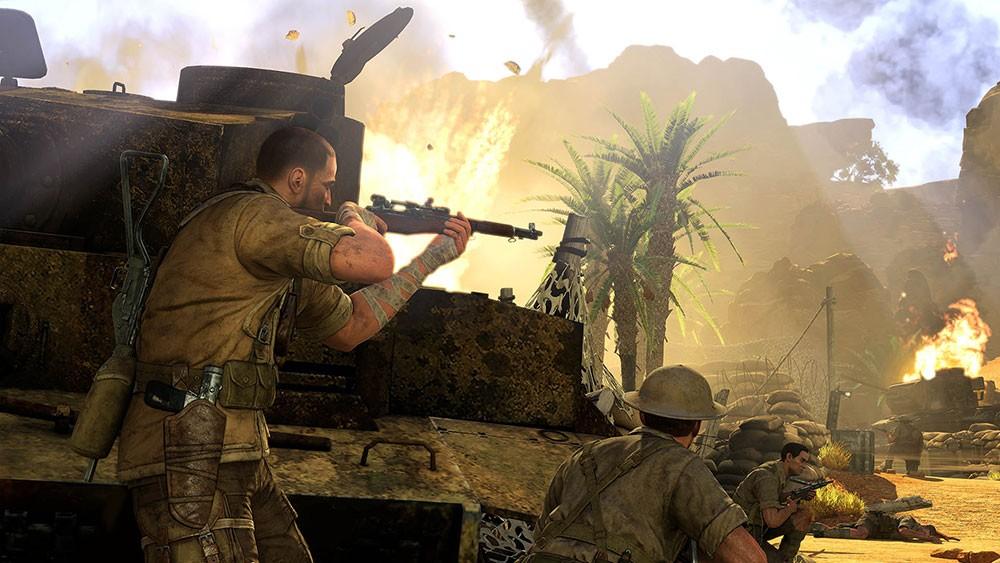 снайперский симулятор