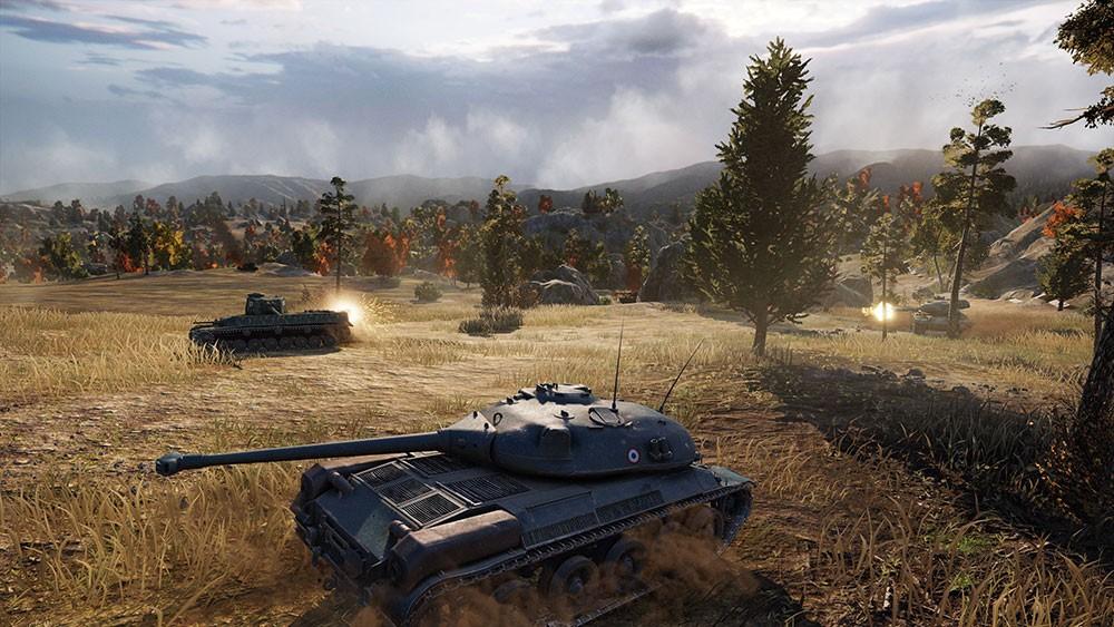 World of Tanks фото игры