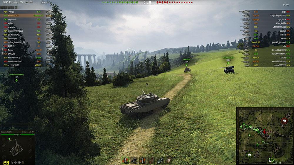 популярный онлайн шутер танки