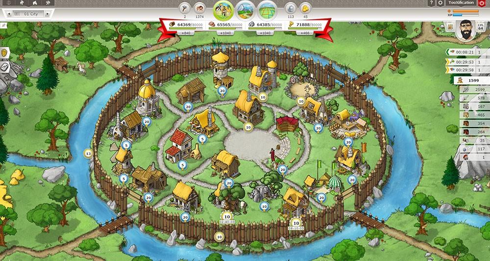 травиан легендс игра