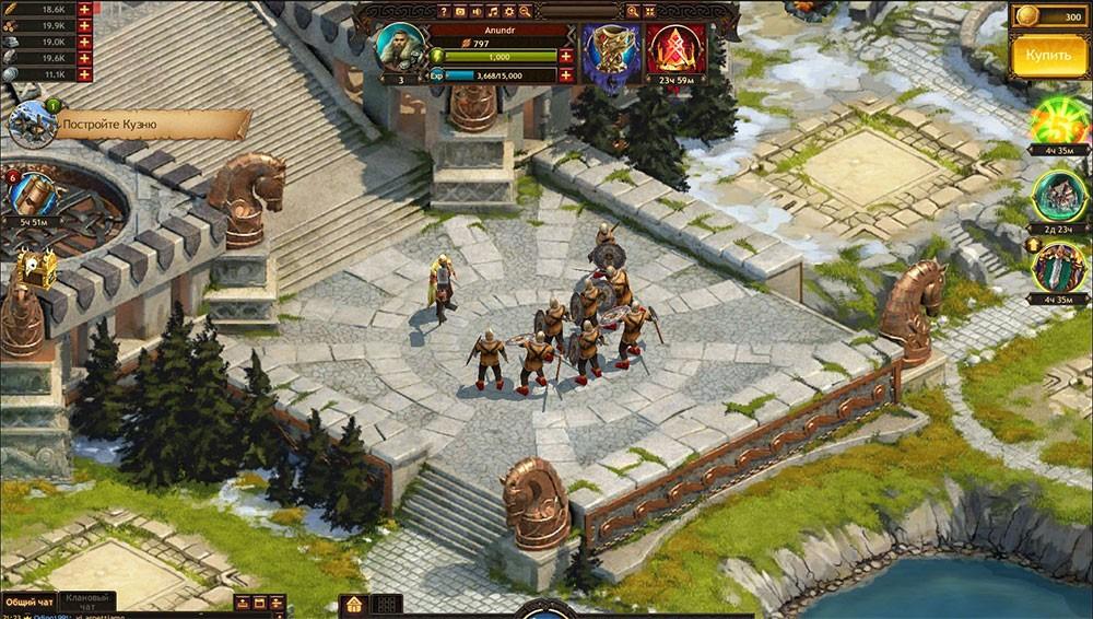 браузерная тактика в викингах