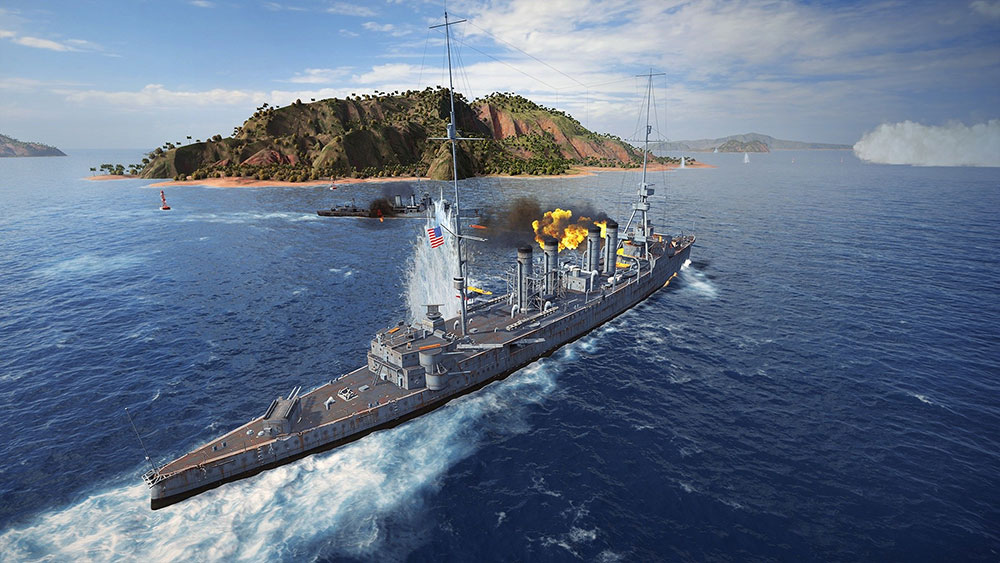 морские сражения в вов