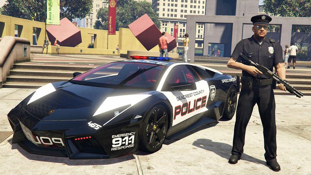 фото полиции гта 5