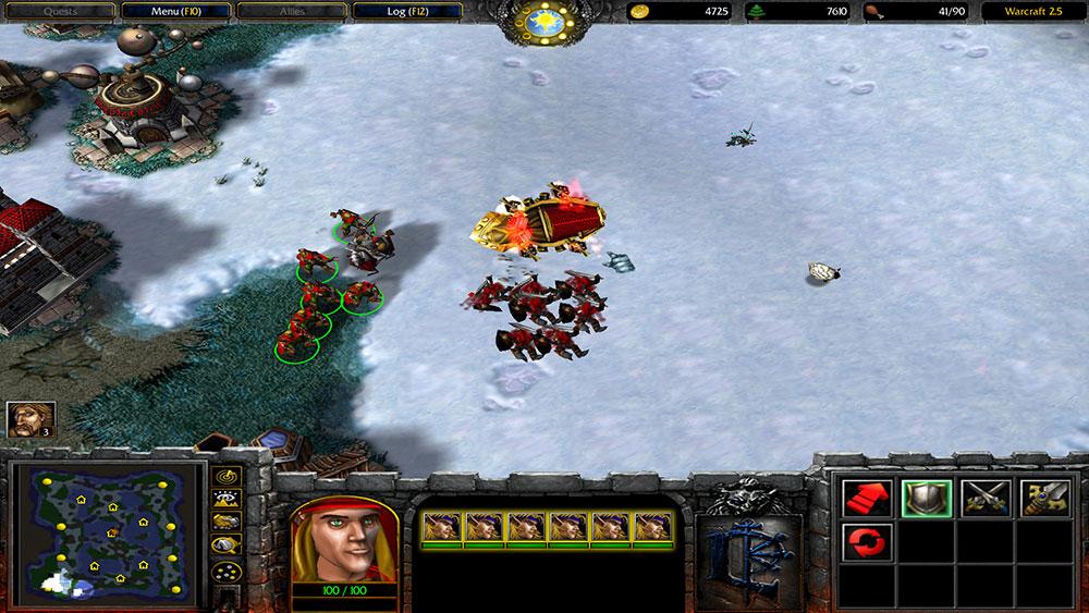 warcraft 2.5 мод