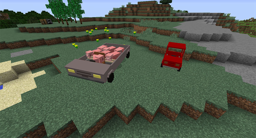 Personal Cars minecraft
