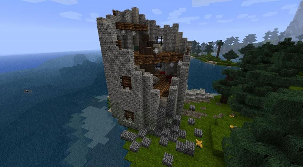 Ruins minecraft